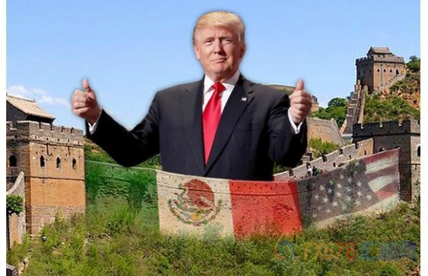 特朗普要修墙谁都拦不住,耶伦奶奶会被吓得放鸽吗?